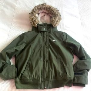 Hollister All Weather Jacket Size Large